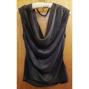 L.A.M.B. silk top size 12